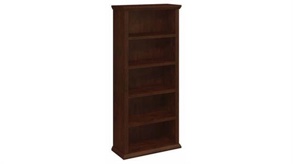 Bookcases Bush Tall 5 Shelf Bookcase