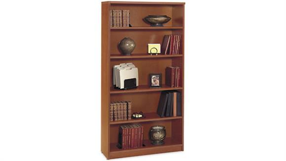 Bookcases Bush Open Double Bookcase