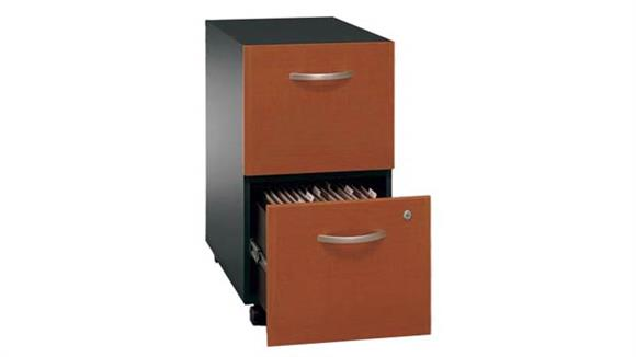 Mobile File Cabinets Bush 2 Drawer Mobile Vertical File