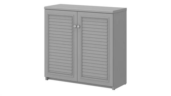 Storage Cabinets Bush Small Storage Cabinet with Doors