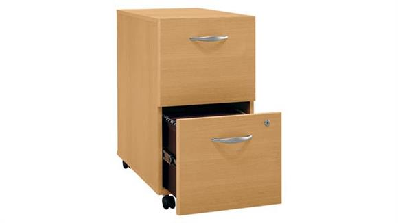 File Cabinets Bush 2 Drawer Mobile Vertical File
