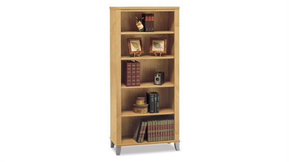 Bookcases Bush 5 Shelf Bookcase
