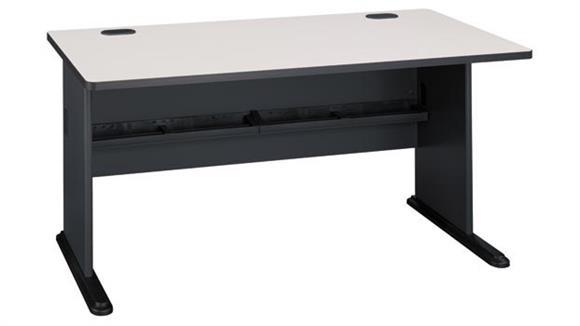 "Modular Desks Bush 60"" Modular Desk"