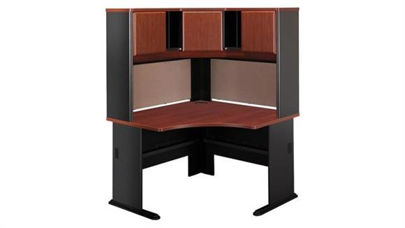 Corner Desks Bush Corner Desk with Hutch