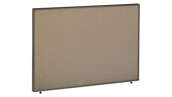 "Office Panels & Partitions Bush 42""H x 60""W Pro Panel"