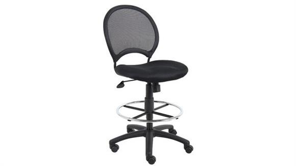 Drafting Stools Boss Office  Chairs  Mesh Drafting Stool