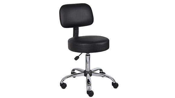 Drafting Stools Boss Office  Chairs  Medical Stool with Back