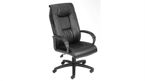 Office Chairs Boss Office  Chairs  High Back Leather Executive Chair