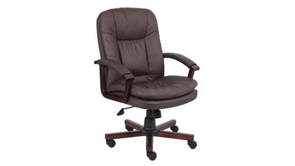 Office Chairs Boss Office  Chairs  Versailles Cherry Wood Executive Chair