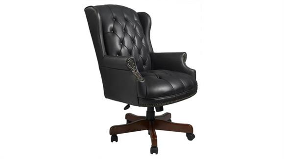 Office Chairs Boss Office  Chairs  Traditional Style Executive Chair