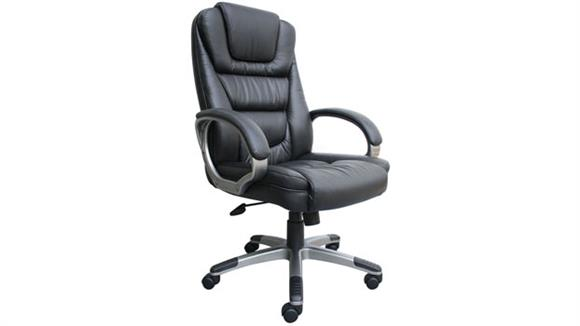 Office Chairs Boss Office  Chairs  Leather High Back Executive Chair