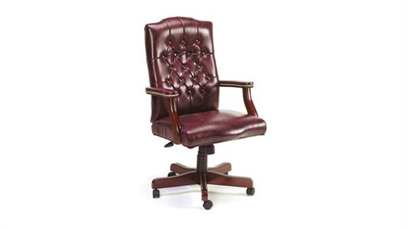 Office Chairs Boss Office  Chairs  Traditional Style Vinyl Executive Chair