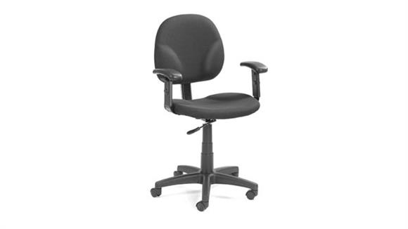 Office Chairs Boss Office  Chairs  Fabric Task Chair with Arms