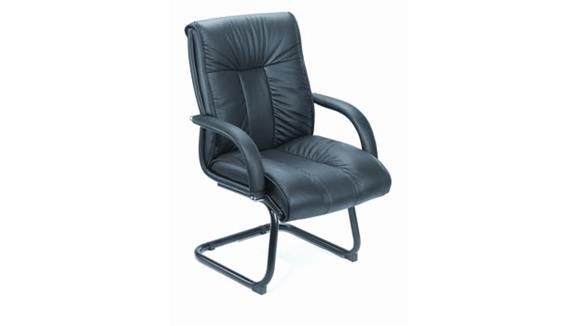 Side & Guest Chairs Boss Office  Chairs  Leather Guest Chair