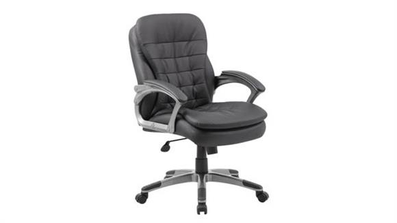 Office Chairs Boss Office  Chairs  Executive Mid Back Pillow Top Chair