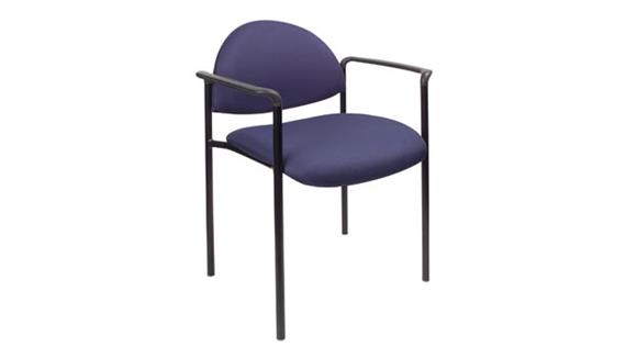 Stacking Chairs Boss Office  Chairs  Fabric Stack Chair