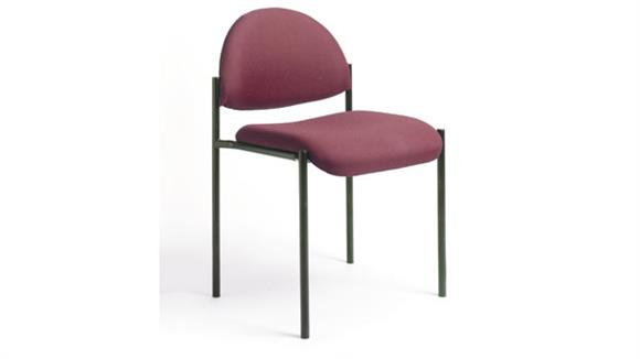 Stacking Chairs Boss Office  Chairs  Armless Fabric Stack Chair