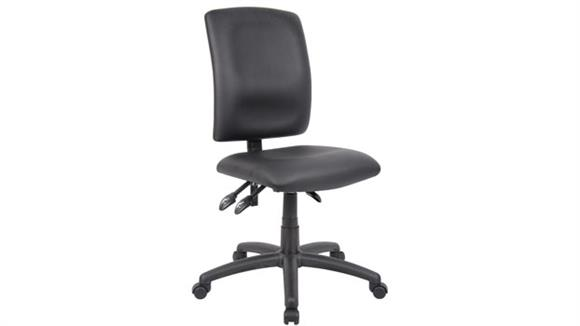 Office Chairs Boss Office  Chairs  Leather Plus Multi Function Task Chair