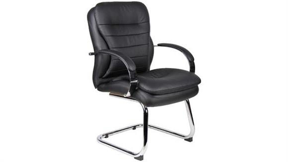 Side & Guest Chairs Boss Office  Chairs  Deluxe Contemporary Guest Chair