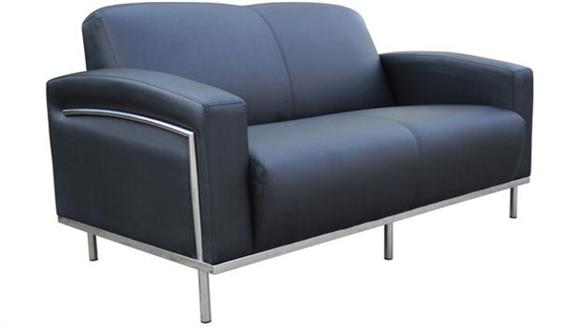 Office Chairs Boss Office  Chairs  Contemporary Style Loveseat
