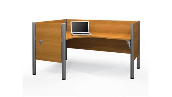 Workstations & Cubicles Bestar Single L Desk Workstation