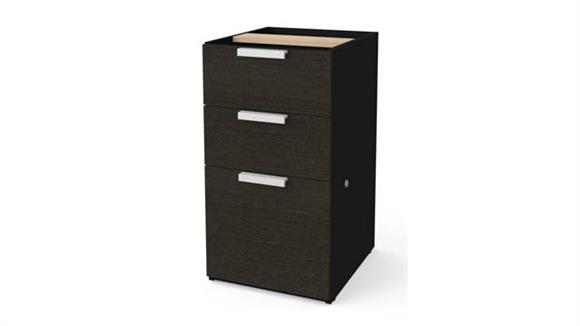 File Cabinets Vertical Bestar Pedestal File Cabinet