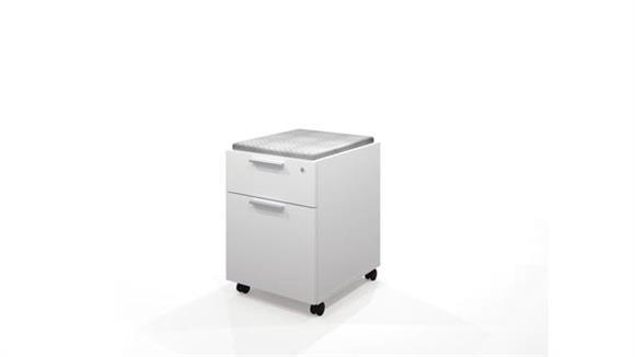 Mobile File Cabinets Bestar Mobile Pedestal