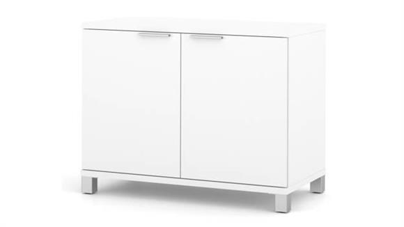 Storage Cabinets Bestar 2 Door Storage Unit