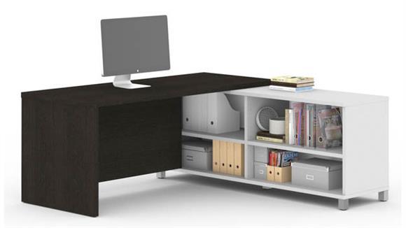 L Shaped Desks Bestar L-Desk