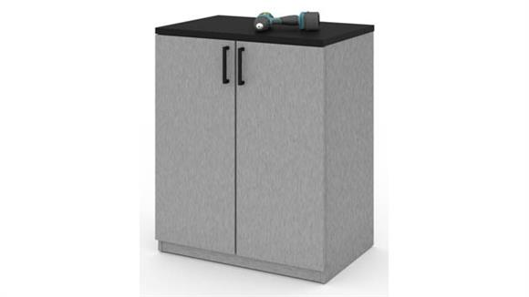 Storage Cabinets Bestar 2-Door Storage Cabinet
