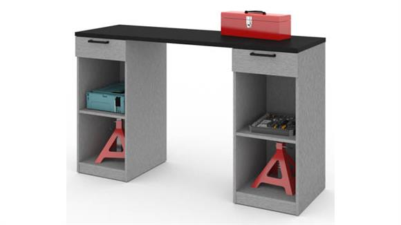 Benches Bestar 2-Drawer Workbench