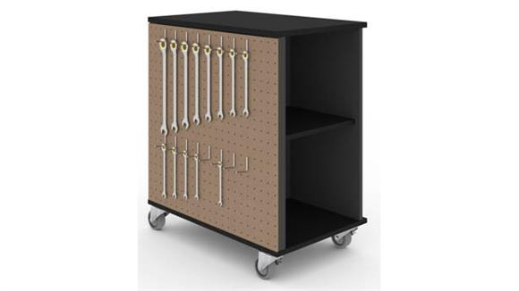 Storage Cabinets Bestar Mobile Storage Cabinet