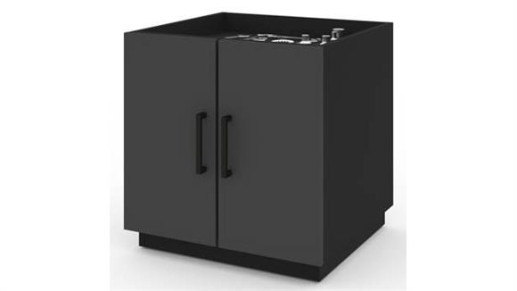 Storage Cabinets Bestar Stackable Cabinet with 2 Drawers
