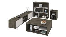 Entertainment Centers Bestar 4-Piece Entertainment Set