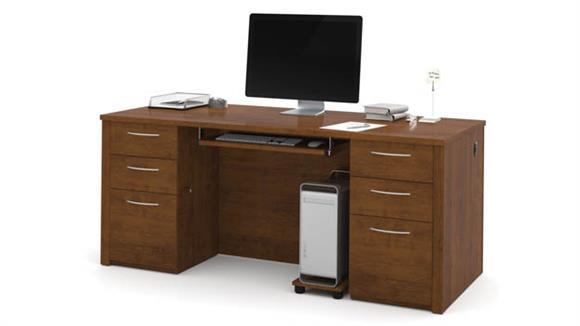 "Executive Desks Bestar 71"" Executive Desk Kit"