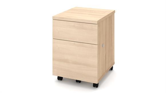 Mobile File Cabinets Bestar Mobile Pedestal File Cabinet