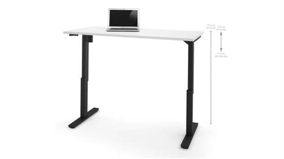 "Adjustable Height Desks & Tables Bestar 30"" x 60"" Electric Height Adjustable Table"