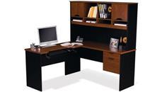 L Shaped Desks Bestar L Shaped Computer Work Station