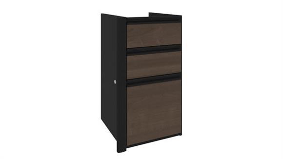 File Cabinets Vertical Bestar 3 Drawer Vertical Pedestal