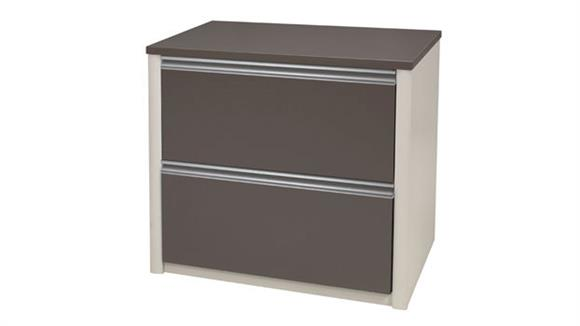 File Cabinets Lateral Bestar 2 Drawer Lateral File 93631