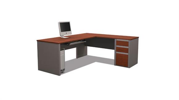 L Shaped Desks Bestar L Shaped Desk 93880