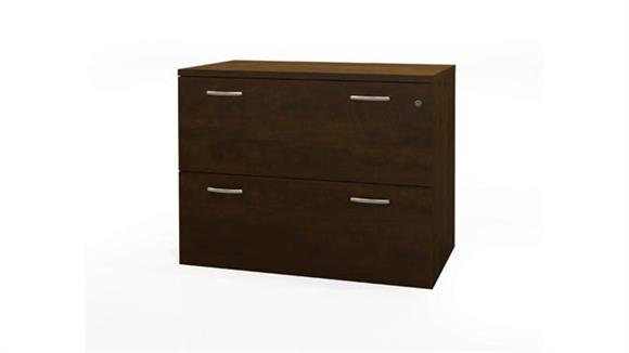 File Cabinets Lateral Bestar Oversized 2 Drawer Lateral File