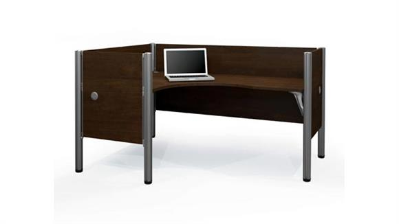 Workstations & Cubicles Bestar Single L Desk Workstation