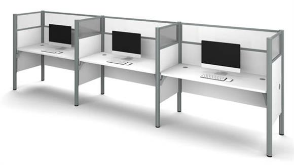 Workstations & Cubicles Bestar Triple Workstation