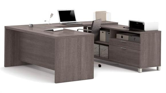 U Shaped Desks Bestar U-Desk