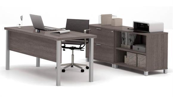 Executive Desks Bestar Executive Desk Set