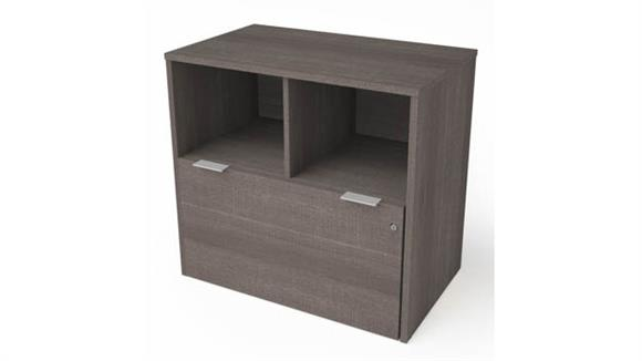 File Cabinets Lateral Bestar One Drawer Lateral File