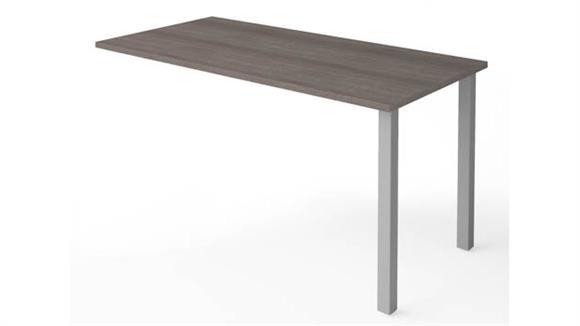 Desk Parts & Accessories Bestar Return Table with Metal Legs