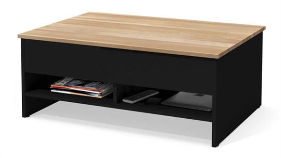 "Coffee Tables Bestar 37"" Lift-Top Storage Coffee Table"