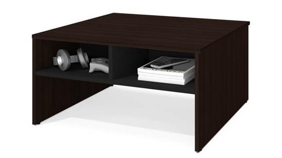 "Coffee Tables Bestar 29.5"" Storage Coffee Table"